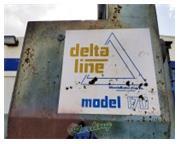 """6 cu.ft. Wheelabrator # 170-Delta-line , 30"""" x 36"""" barrel, 3600 RPM, 5 HP, #A516"""