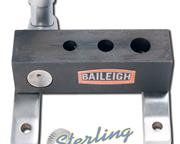 """1/4"""" Baileigh # TN-50M , manually operated non-mitering pipe notcher, mounts to bench"""