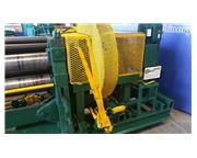 """10' x 1/4"""" Heavy Duty , mechanical initial plate roll, manual drop end, drum switch,"""