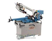 "8"" x 13"" Baileigh # BS-350M , dual mitering swivel metal cutting, 2 HP, new, #SM"