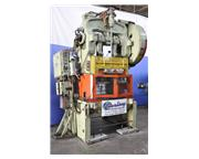 "60 Ton, Bliss # 106FW , A/C open back double crank inclinable punch press, 5"" stroke,"
