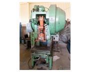 45 Ton, Bliss # C-45 , OBI single crank punch press, DV-1000 DRO, air clutch & brake, Biju