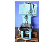 "4 Ton, Denison # Multipress , hydraulic C-frame press, 18"" x 11"" bed, dual elect"