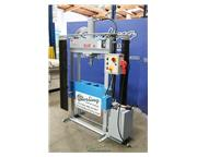 "40 Ton, Dake # PSS40 , H-frame hydraulic, 19"" stroke, adjustable table, variable ram"