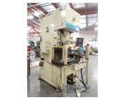 """60 Ton, Komatsu # 60-LVS-3 , gap frame press, 4.72"""" stroke, A/C & brake, 1999, #CD511"""
