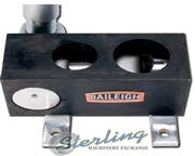 """2"""" Baileigh # TN-200M , manually operated, non-mitering pipe notcher, mounts to bench"""