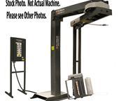 Wulftec # WRT-150 , semi-auto shrink stretch wrap rotary arm, laser tech sensor, control b
