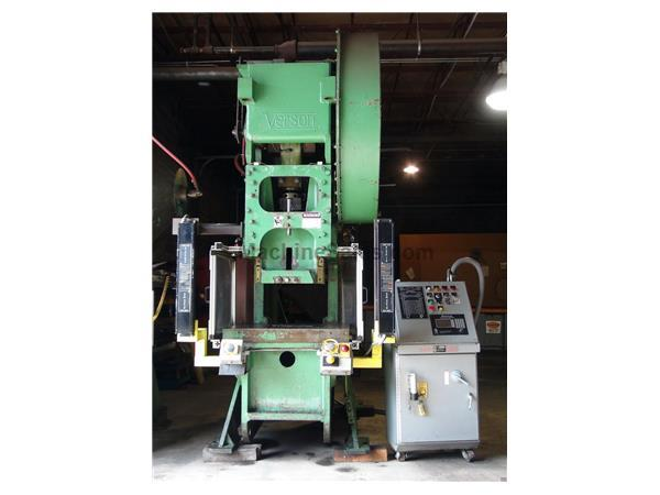 125 Ton VERSON Open Back Inclinable Punch Press