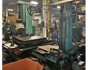 "4"" TOS W100-A  Table Type Horizontal Boring Mill"