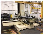 5' LUCAS MODEL 542B-120 HORIZONTAL TABLE TYPE BORING & DRILLING MACHINE