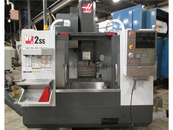 "2011 HAAS VF-2SS SUPER SPEED VMC WITH HAAS CONTROL, 30"" X 16"" X 2"