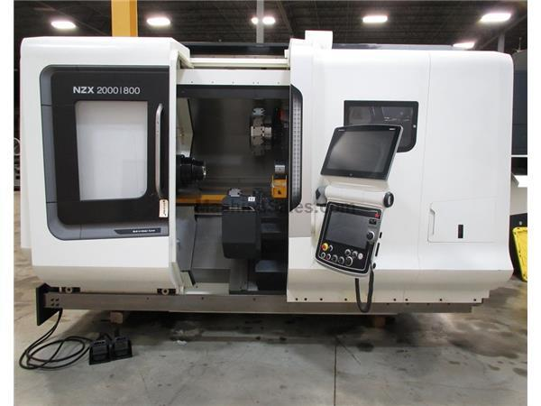 DMG MORI NZX-2000|800SY2 TWIN SPINDLE, TWIN TURRET CNC TURNING CENTER, 2.5""