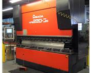 3057, Amada, HFE220-3s, 8 Axis CNC Down Acting Hydraulic, 2008