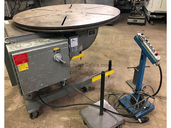 3065, Koike-Aronson, HD-25A, Welding Positioner 2,500 lbs, 1997