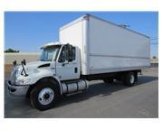 2013 International DuraStar 4300 26 ft. Box Van Truck