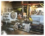 "32""/43"" x 84"" Tuda Engine Lathe Jumbo Eight New 1980"