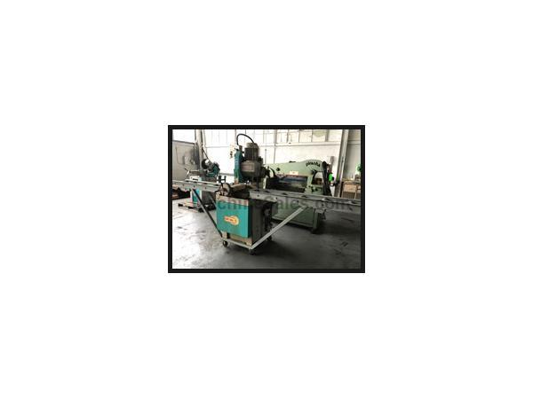 "USED KMT C-350 AV 14"" MANUAL COLD SAW, 2 Speed, Manual pull down, Mitering"