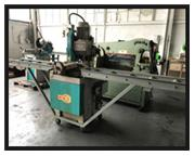 """USED KMT C-350 AV 14"""" MANUAL COLD SAW, 2 Speed, Manual pull down, Mitering"""