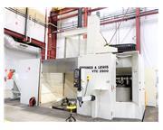 "Giddings & Lewis VTC 2500 98"" CNC Vertical Turning Center"