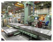 """Giddings & Lewis 6"""" CNC Table Type HBM, Model G60-T with Fanuc 31iA5 CN"""