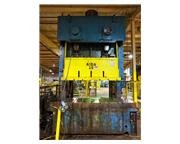 "275 TON AIDA DOUBLE CRANK GAP FRAME PRESS 11"" stroke"