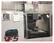"2000 Haas VF-5/40 w/ 3"" Riser CNC Vertical Machining Center"