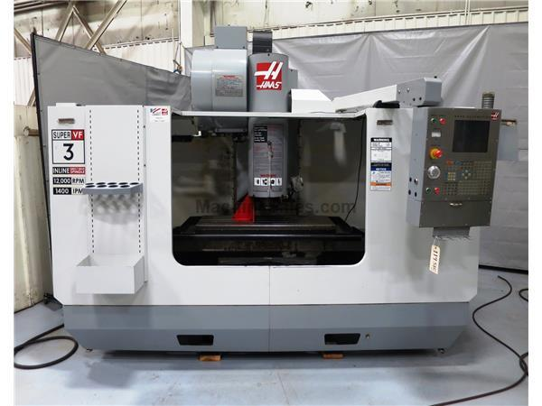 HAAS MODEL VF-3SS 3-AXIS PRECISION CNC VERTICAL MACHINING CENTER