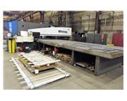 WHITNEY 4400 MAX 100 Ton CNC Punch Plasma Fabricating Center