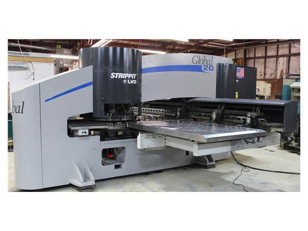 Strippit Global 1225/20 CNC Turret Punch Machine, 2001, Thin Tooling,