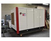 100 HP GARDNER DENVER 2 STAGE AIR COOLED ROTARY SCREW AIR COMPRESSOR