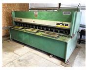"1995 Adira 10' x 1/4"" Hydraulic Power Squaring Shear"