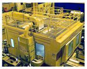 """6"""" Giddings & Lewis MC-60 CNC Table Type Horizontal Boring Mill Wi"""