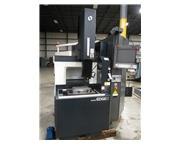 2005 MAKINO EDGE 2 SINKER TYPE EDM WITH C-AXIS, SYSTEM 3R HEAD, 30 AMP