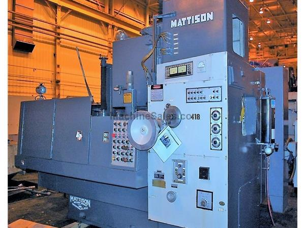 "48"" MATTISON Model 24 Rotary Surface Grinder"