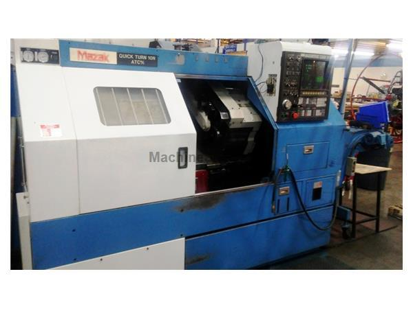Mazak CNC Lathe QT10N ATC m/c with Live tooling and T3 Control- Very Clean