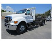 2004 Ford F-650 XL 16 ft. Flatbed Truck