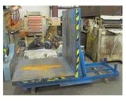 """8,000 Lb., BEACON, No. BHUE-08-90, COIL UPENDER, 48"""" W., 50"""" O.D., 3 HP (13140)"""