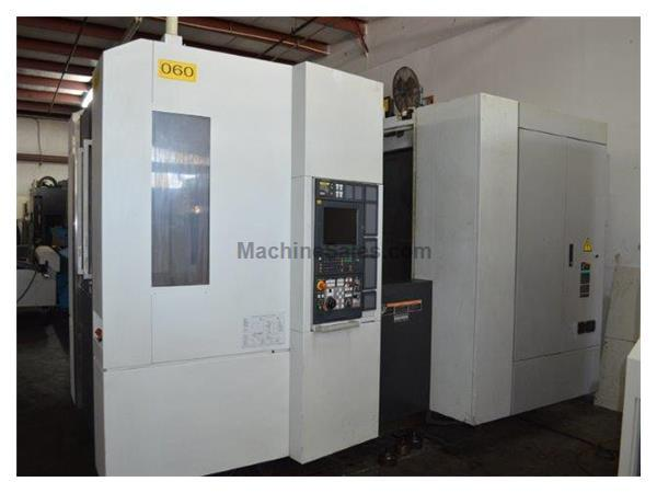 MORI SEIKI, NH5000/40DCG, MXS-701 CNTRL, CNC HORIZONTAL MACHINING NEW: 2007
