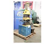 Custom Made , 4-post heated laminating press, control w/indicators, timer, heated platen s
