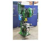 "25 Ton, Bliss # 39 , 4"" stroke, geared horn & wiring press, adjustable bed, air trip"