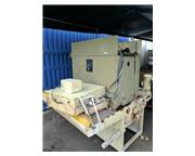 """37"""" Timesavers # 137-1HDMW , wet belt grinder, paper filter coolant systems, used, #A"""