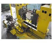Ying Lin # CR-F38 , double finishing & double end angle bender, foot pedal, tooling, 2 rot