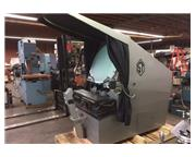 "30"" Screen Scherr-Tumico 22-2500 OPTICAL COMPARATOR, SONY DRO, 10X, 20X, 50X LENSES,"