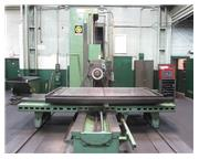 """5"""" Spindle 108"""" X Axis Giddings  Lewis 70D5T HORIZONTAL BORING MILL, #50 PDB,  H"""