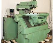 """39"""" Table 4HP Spindle Deckel FP3L UNIVERSAL MILL, Universal Table,Horizontal  Vertica"""