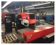 "22 Tons 40"" Throat Amada ARIES 245 CNC TURRET PUNCH PRESS"
