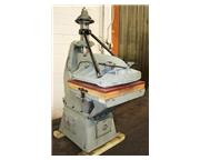 """25 Ton Herman-Schwabe DV CLICKER DIE CUTTING PRESS, 30"""" x 30"""" Extended Table"""