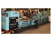 "41"" Swing 240"" Centers Tos SU100 ENGINE LATHE, Inch/Metric,Anilam DRO,Steady Res"