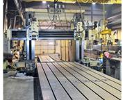 "80"" X 408"" Gray Double Column Planer"