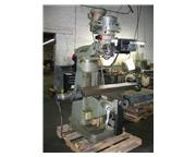 Bridgeport, 9x42 Vertical Milling Machine, SN: 232868 With Proto Trak Plus,